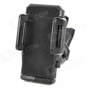 Soporte giratorio de 360 ??grados para el iPhone 4 / 4S / 5 / samsung i9300 / GPS - negro
