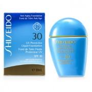 UV Protective Liquid Foundation - # Dark Beige 30ml/1oz Fond de Ten Lichid cu Protecție UV - # Bej Închis
