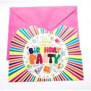 Set invitatii petrecere copii