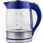 RNG EKO GREEN RNG 1752-Blue Electric Kettle(1.8 L, Blue, Clear (Glass), Silver (Stainless Steel))