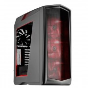 Silverstone SST-PM01TR-W Primera Midi-Tower - anthrazit Window