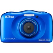 Digitalni foto-aparat Nikon Coolpix W100, Plavi Set (sa rancem)