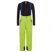 The North Face Youth Snowquest Suspender Plus Pants Grön