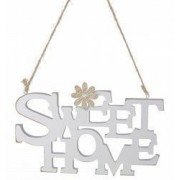 Decoratiune perete lemn SWEET HOME