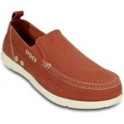 Crocs Walu Loafers For Men(Orange)