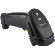 Everycom 1D Wired Linear CCD Automatic Barcode Scanner Black