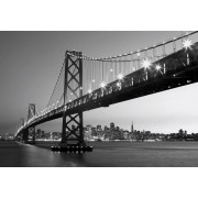 W + G Wizzard and Genius Fotobehang San Francisco Skyline