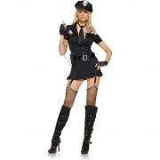 LEG AVENUE DISFRAZ FEMENINO POLICIA SEXY XL