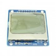 Modul LCD cu Controller PCD8544 Albastru (LCD Compatibil cu 5110)