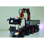 Mercedes-Benz Arocs 3245 Lighting Kit for LEGO Set #42043(Mercedes-Benz Arocs not included) by Brick Loot