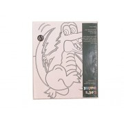 Lets Paint! Canvas Acrylic Painting Set (Crocodile) By Pink Montessori