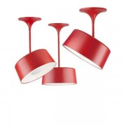 Zero Beam hanglamp rood 800