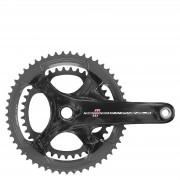 Campagnolo Record 11 Speed Ultra Torque Carbon Compact Chainset - Black - 50-34T 175mm