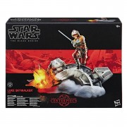 Hasbro Figura Luke Skywalker con base Star Wars The Black Series: Centrepiece