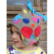 Buggy Snuggle Kindermuts Bright Bubbles Star M