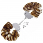 Cave Master Furry Love Cuffs - Tiger