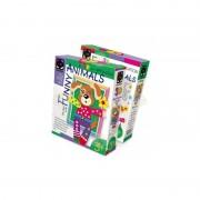 SET CREATIVITATE COLAJ 3D FUNNY ANIMALS CATEL, ELF MARKET - EM257096