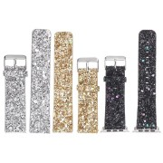 Replacement Bling Leather Wrist Watch Band Strap For Fitbit Blaze Activity Tracker Watch
