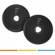 FAC 2 filtres de hotte FC21 - compatible Bosch DHZ5275 DHZ5276 Siemens