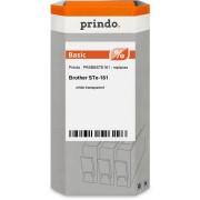 Prindo Nastro Bianco su trasparente Originale PRSBBSTE161