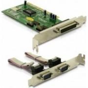 Placa PCI Delock 2 X Serial 1 X paralel