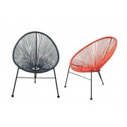 1 2 or 4 Moon String Garden Chairs - 6 Colours!