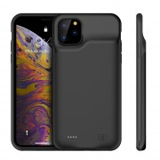 6500mAh Rechargeable Backup Extended Battery Charger Case for iPhone 11 Pro Max 6.5 inch - Black