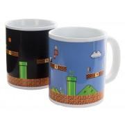 Super Mario Bros. Mug Décor Thermique Level