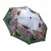 Blooming Brollies Umbrelă pliabila automata The Butterfly Mountain GBFBM pentru dame