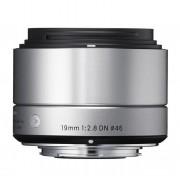 Sigma Obiettivo 19mm F 2.8 Dn (a) Art Silver (micro 4 3)