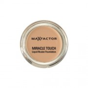 Max factor fondfotinta miracle touch liquid illusion foundation rose beige 65