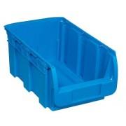 Allit Kunststoffbox compact, 210 x 350 x 150 mm, blau