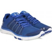 Under Armour Micro G Limitless TR 2 Training & Gym Shoes For Men(Blue)