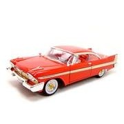 1958 PLYMOUTH FURY RED 1:18 DIECAST MODEL