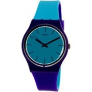 Swatch Blue7179 Swatch Women's Mixed Up GV128 Multicolor Rubber Swiss Quartz Watch Watch - For Men