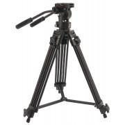 Professional Video Stativ Schwenkung & Neigung 138 cm Sch...