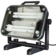 Jet-Light 36W lapos világítótest, IP44 5m H07RN-F 2x1,0 2x18W 2x1200lm Energiahatékonysági osztály B