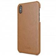 BeHello - Leather Back Case iPhone X/Xs Hoesje