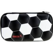 Penar Borseta DACO Model Minge Fotbal 22.5x4.8x12 cm Poliester Negru Borseta pentru Scoala Penare Tip Borseta Penar pentru Baieti
