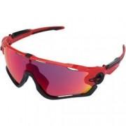 Oakley Óculos de Sol Oakley Jawbreaker Prizm - Unissex - Vermelho/Preto