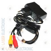 Mini Micro Telecamera Sensore Philips 5.0Mpx Grandangolo Angolo 170° 600TVL con Audio