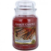 Yankee Candle Sparkling Cinnamon scented candle Classic Large 623 g