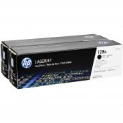 HP Toner CE 320 AD Twin Pack Svart No. 128 A