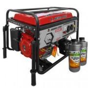 Pachet generator electric Profesional Media-Line MLG 6500 E1 6.5 kVA monofazat AVR + 2l ulei motor AgroPro