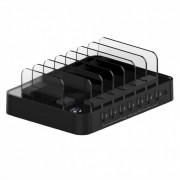 Statie de incarcare (incarcator priza) cu 7 x USB 2.4A, Roline 19.07.1051