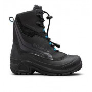 Columbia Botte De Neige Bugaboot Plus IV Omni-Heat - Junior Noir, Bleu 34 EU