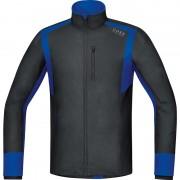 GORE RUNNING WEAR Air GWS Hardloopshirt lange mouwen Heren blauw/zwart XL 2017 Hardloopshirts