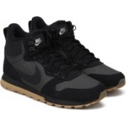 Nike MD RUNNER 2 MID PREMIUM High Tops For Men(Black)