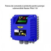 Panou de comanda si protectie pentru pompe submersibile Nastec Pilot 118