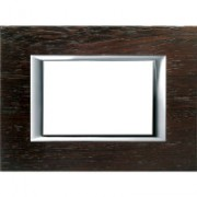 > Axolute - placca rettangolare Legni in legno 3 posti wengè